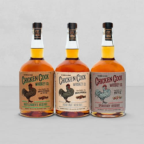 Chicken Cock Whiskey Reserve Line
