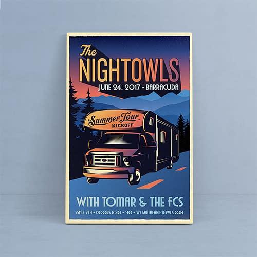 The Nightowls - Summer Tour