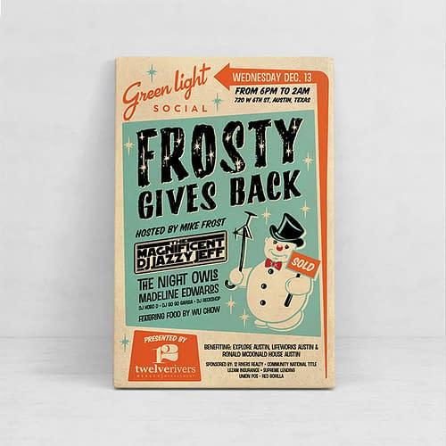 Frosty Gives Back
