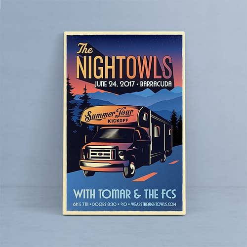 The Nightowls - Summer Tour