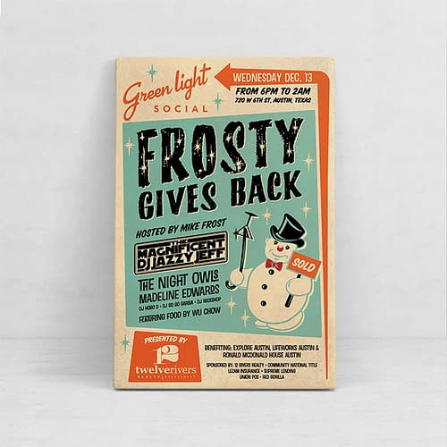 Frosty Gives Back