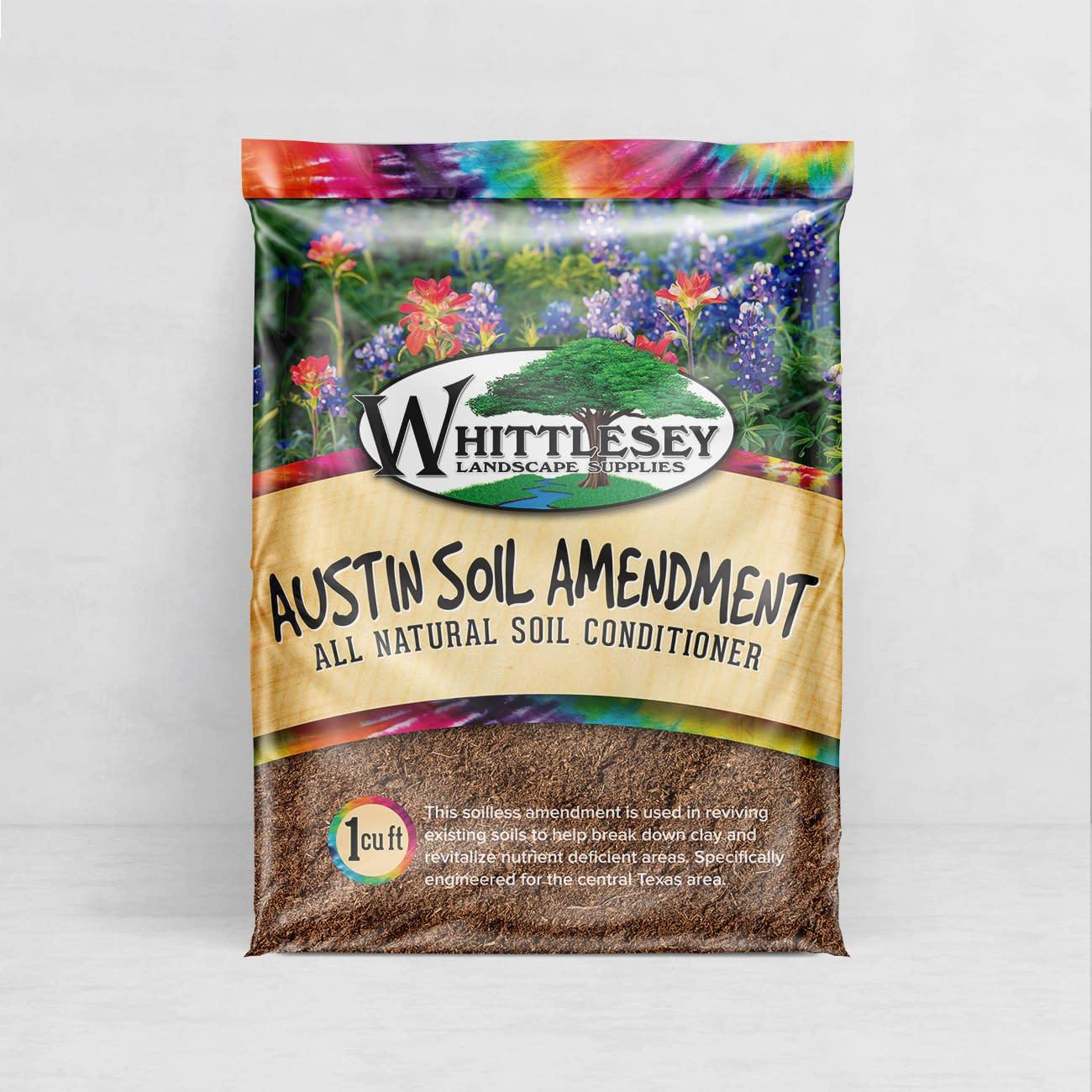 Austin Packaging Design Whittlesey Landscape Supplies 2015 Bag Line Alyson Design Austin Tx