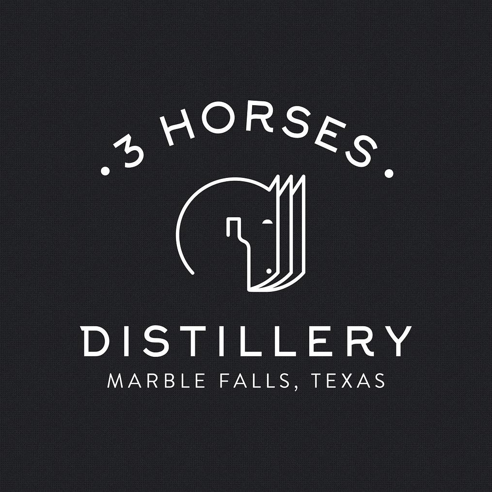 Stupendous Austin Logo Design 3 Horses Distillery Alyson Design Download Free Architecture Designs Itiscsunscenecom
