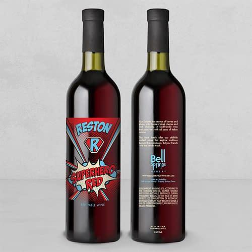 Reston Superhero Red